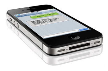 SMS Booking, Text a Minicab with your smart phone